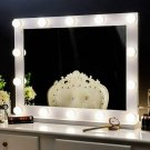 Chende Vanity Mirror Wall Mounted Hollywood Lighted Makeup w/ 3 Color Conversion
