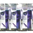 L'oreal Paris Set of 4 Voluminous Butterfly Sculpting Mascara Blackest Black 876