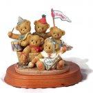 Enesco Cherished Teddies Commemorative 5 Year Anniversary Figurine