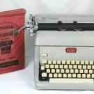 Vintage Royal Mcbee Nederland Gray Portable Manual Typewriter