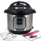 Instant Pot Model Duo Nova 60 Silver Multi Use Electric Pressure Cooker 6 Quart