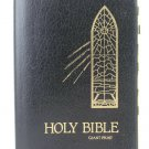 Holy Bible Black Leather Dugan KJV Giant Print Red Letter Edition 7100
