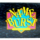 Hersch Name Burst The Memory Jogging Name Calling Who's Who Party Game