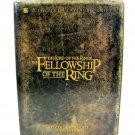 The Lord Of The Rings The Fellowship Of The Ring 4 DVD Movie Disc Set Special Ed