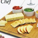 """Grande Chef Gourmet 7 Piece Bamboo Serving Tray 13"""" x 13"""""""