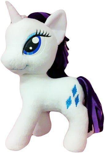 "My Little Pony Funrise Plush Rarity 5"" (w/FREE NEON PONY BLIND BAG!)"