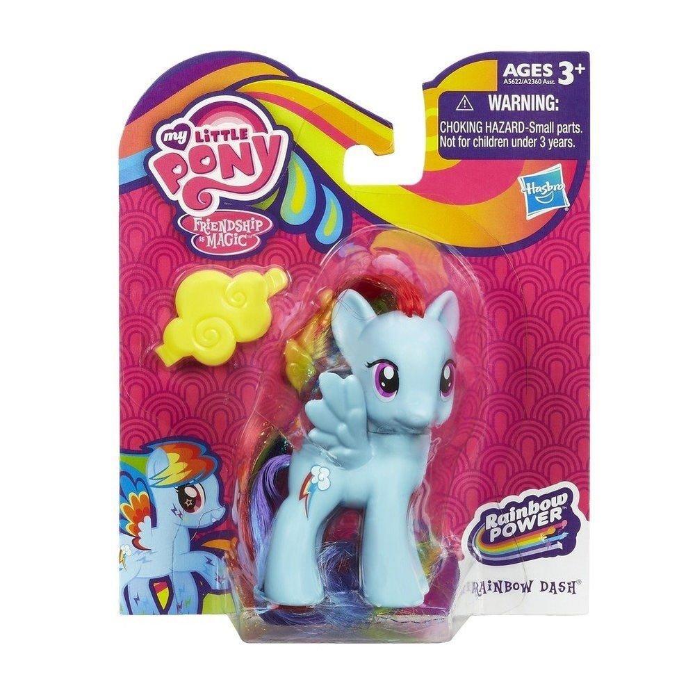 My Little Pony Rainbow Dash Rainbow Power w/FREE Pony Blind Bag