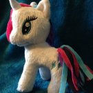 "My Little Pony Funrise Plush Rarity (Rainbowfied) 5"" w/FREE PONY BLIND BAG"