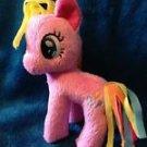 My Little Pony Funrise Plush Pinkie Pie (Rainbowfied) w/FREE PONY BLIND BAG