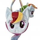 My Little Pony Aurora Plush Rainbow Dash Ponytail Carrier w/FREE PONY BLIND BAG