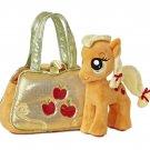 My Little Pony Aurora Plush Applejack Cutie Mark Carrier w/FREE PONY BLIND BAG
