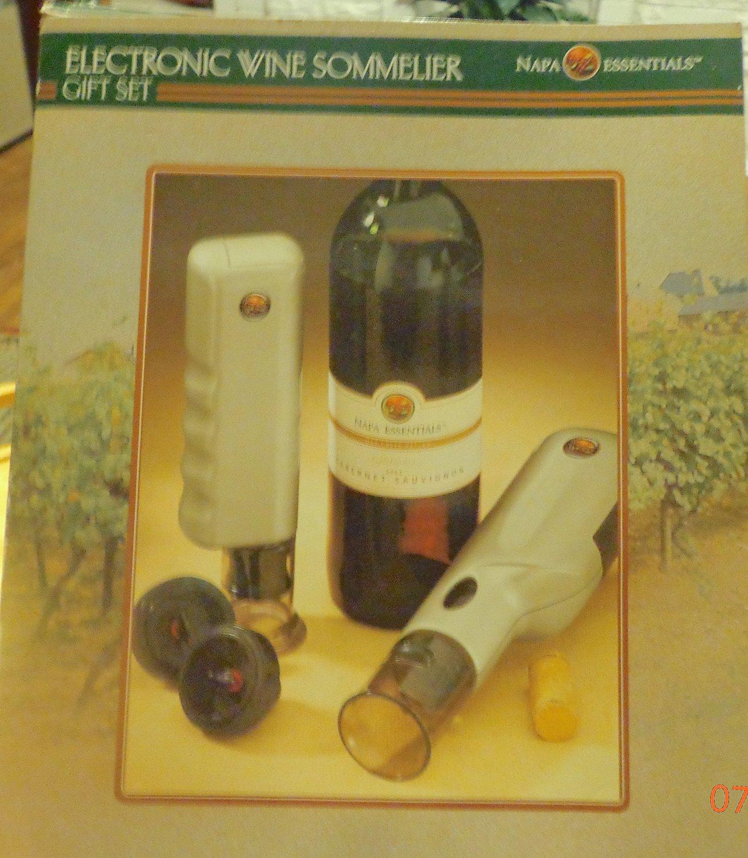 Napa Essentials Electronic Wine Sommelier Set