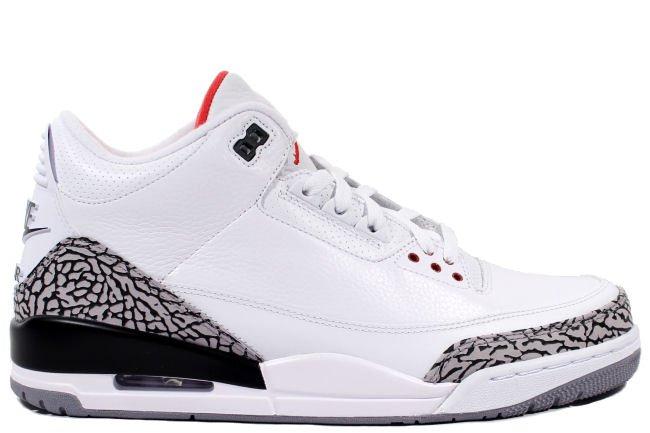 Air Jordan III (3) Retro '88 White Cement size 8.5