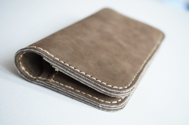 Retro Unisex Leather Wallet Brown Model RLW1180