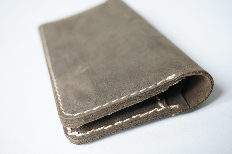 Retro Unisex Leather Wallet Brown Model RLW1282
