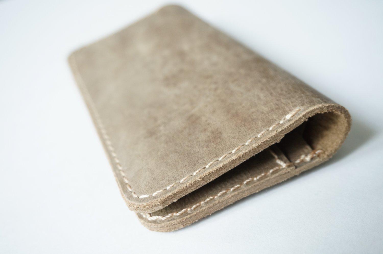 Retro Unisex Leather Wallet Brown Model RLW1284