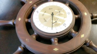 SHIP WHEEL WODEN WITH