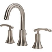 Fontaine Vincennes brushed nickel widespread faucet