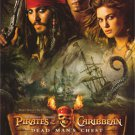 "ORLANDO BLOOM JOHNNY DEPP SIGNED X7 ""PIRATES 2 DEAD MANS CHEST"" MOVIE SCRIPT RPT"