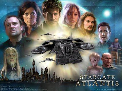"JOE FLANIGAN RACHEL LUTRELL SIGNED X7 ""STARGATE : ATLANTIS"" TV SCRIPT RPT"