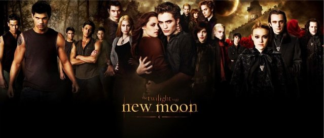 "TAYLOR LAUTNER ROBERT PATTINSON SIGNED X14 TWILIGHT ""NEW MOON"" MOVIE SCRIPT RPT"
