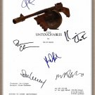 "KEVIN COSTNER ROBERT DENIRO ANDY GARCIA SIGNED X6 ""THE UNTOUCHABLES"" SCRIPT RPT"
