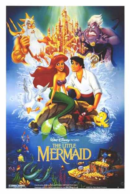 "JODI BENSON SIGNED DISNEY ""THE LITTLE MERMAID"" MOVIE SCRIPT W/ ALL LYRICS RPT"