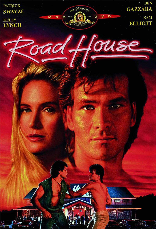 "PATRICK SWAYZE SAM ELLIOTT KELLY LYNCH CAST SIGNED ""ROAD HOUSE"" MOVIE SCRIPT RPT"