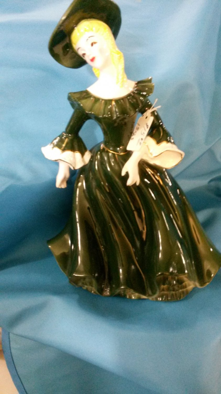 Porcelain Statue Lady