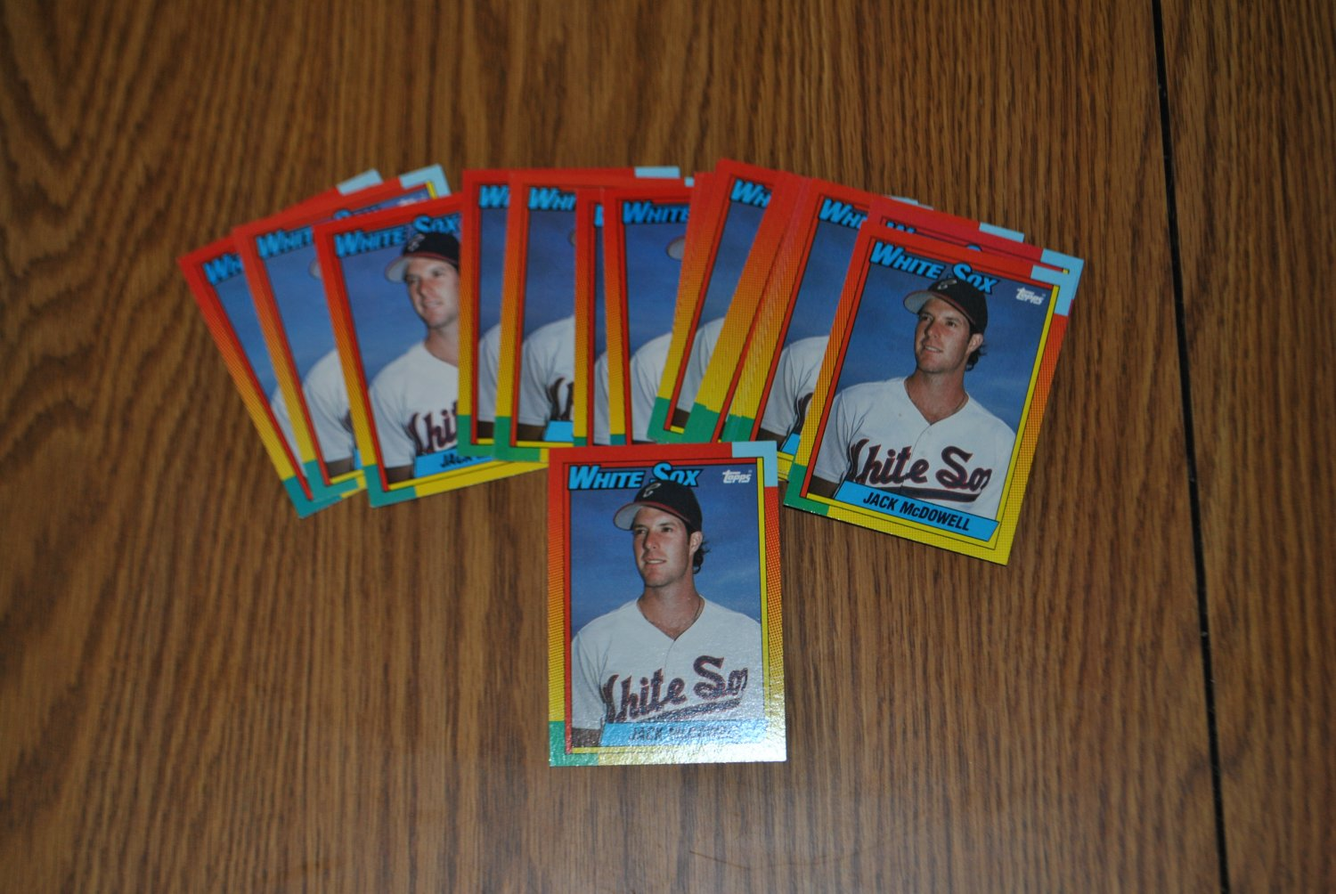 1990 topps traded jack mcdowell lot.