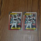 1989 topps major league debut steve finley lot.