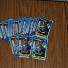 1990 topps joey belle rookie card lot.