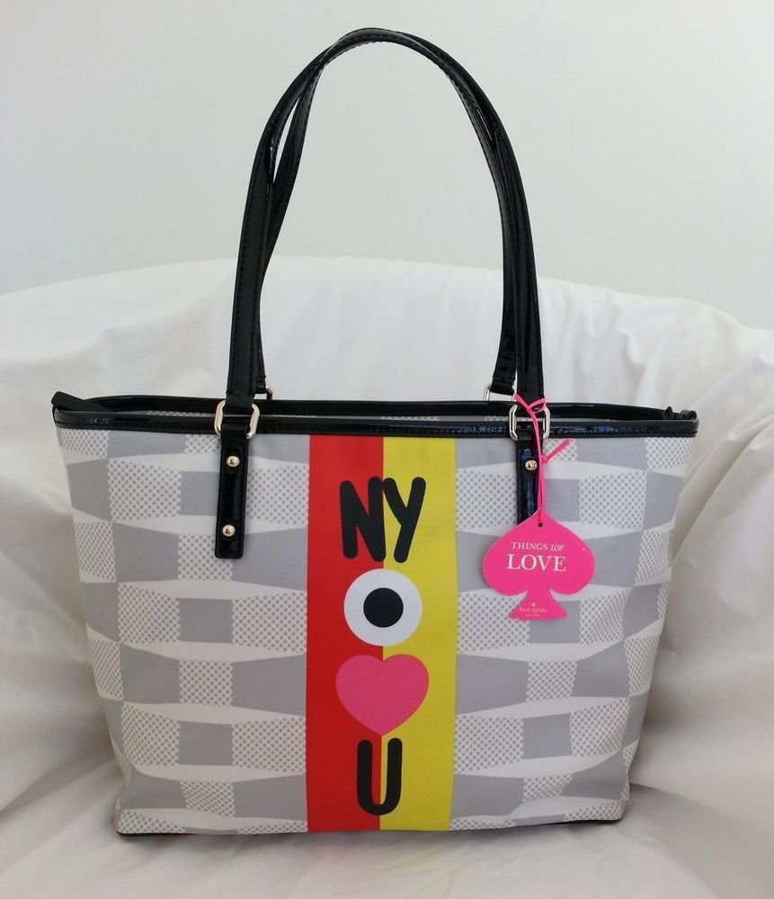 Kate Spade New York x Darcel Small Harmony Tote Bag in Big Smoke NWT: SRP:$228