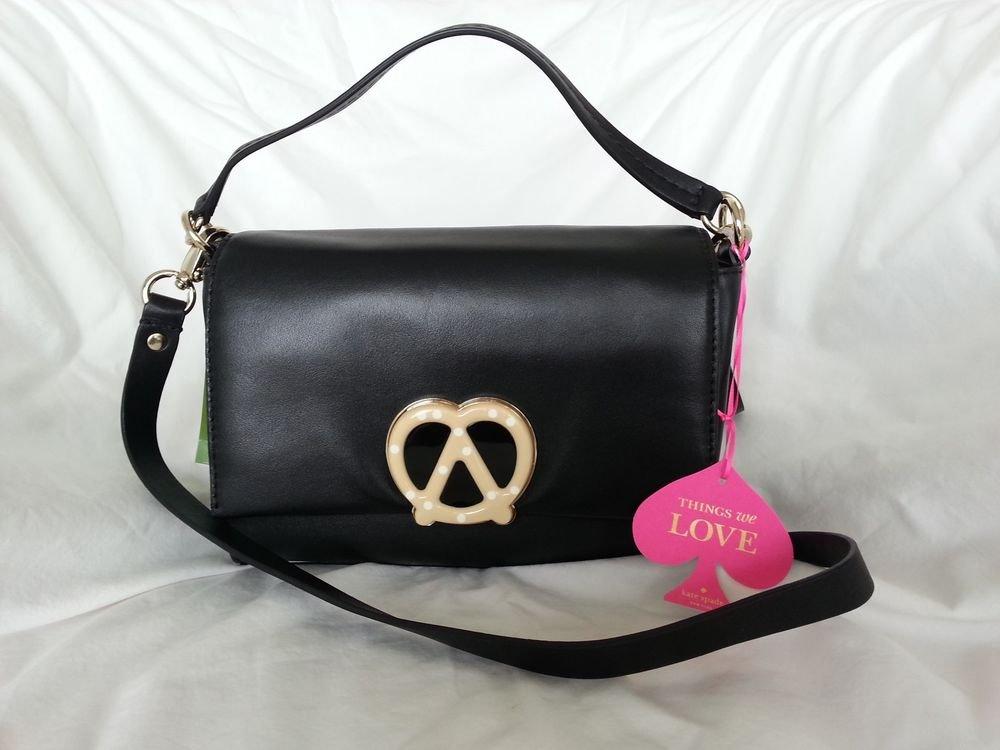Kate Spade Handbag x Darcel Tobyn Satchel/Crossbody Bag in Black NWT: SRP:$398