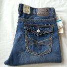 SEVEN 7 PREMIUM  Men's Denim Straight Cut Jeans Gamma Blue-NWT-SRP: $74