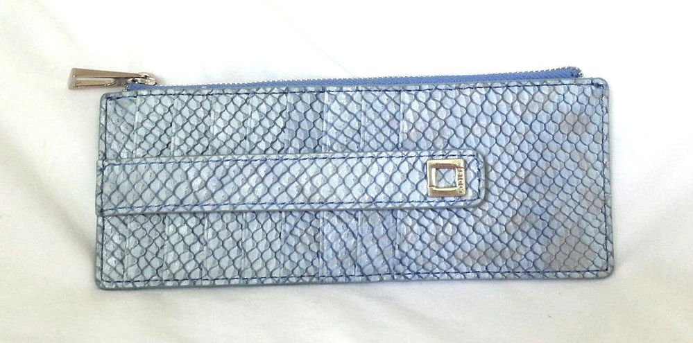 Lodis Wallet Laurel Canyon Credit Card Case in Rose or Rain-NWT-RP: $58.00