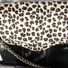 Rebecca Minkoff Cheetah Print Leather Beau Shoulder Bag/Clutch NWT-SRP: $495