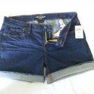 Women's Lucky Brand Denim Abbey Frayed Cuffed Short Size 8 (29)-NWT-SRP: $69.50