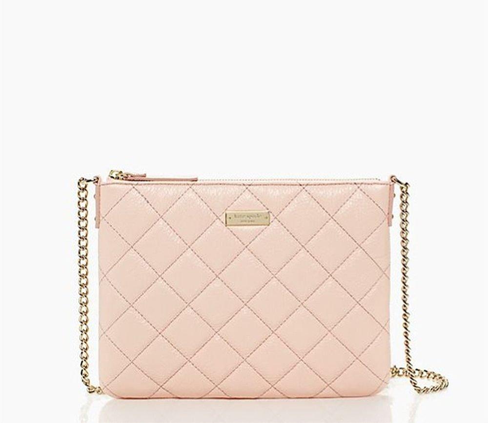 Kate Spade Handbag NEW-Gold Coast Ginnie Crossbody Bag in Pink-NWT: RP:$248