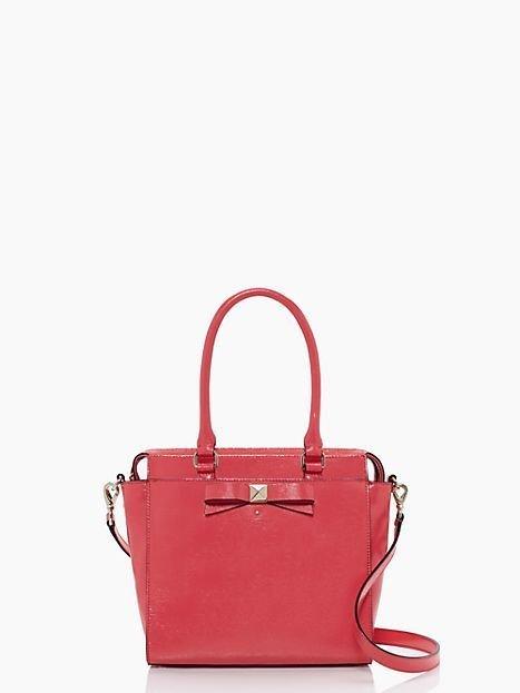 Kate Spade Handbag NEW Beacon Court Garland Shoulder Bag Strawberry NWT-RP: $348