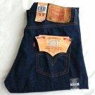MEN'S LEVI'S 501 Original Fit Button Fly Dark Blue Jeans Denim Size 32 x 30-NWT