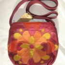 Lucky Brand Patch Crossbody Bag Purse in Tropical Berry - NWT - SRP $129.00