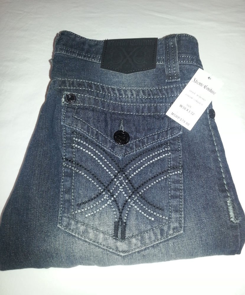 Xtreme Couture by Affliction Men's Jeans Size 30x32, 30x30 -- NWT-MSRP $79.00