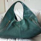 Pour La Victoire Leather Large Nouveau Hobo Shoulder Bag in Green-NWOT-RP: $575