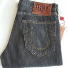Men's TRUE RELIGION GENO PHOENIX Straight Jeans in Blue Grass 30x34-NWT-RP:$246