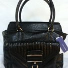 Rebecca Minkoff Handbag-Leather Illy Tote Shoulder Bag in Black-