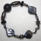 Black Mother-of-Pearl Bracelet - Item #B14