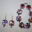 Floral Fantasy Bracelet & Earrings - Item #BES17
