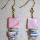 Pastel Shell Earrings - Item #E4