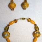 Sunny Day Bracelet & Earrings - Item #BES24